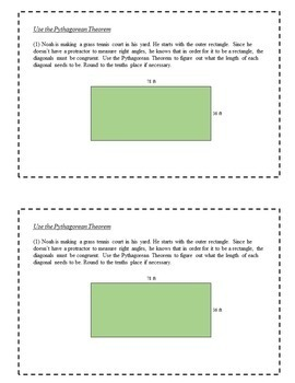 8th Grade Math Task Cards - Triangles and Transformations