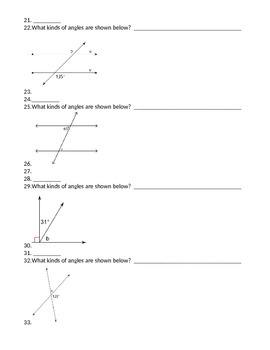 8th Grade Math Unit 1 Geometry Test CCGPS