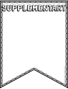 8th Grade Math Vocabulary Pennant-All Concepts Bundle
