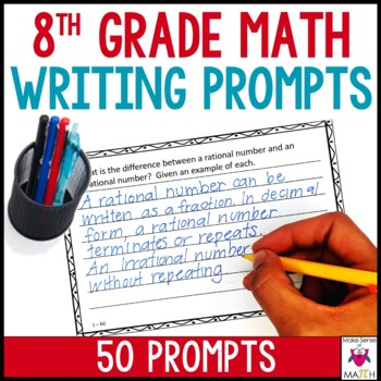 8th Grade Math Writing Prompts