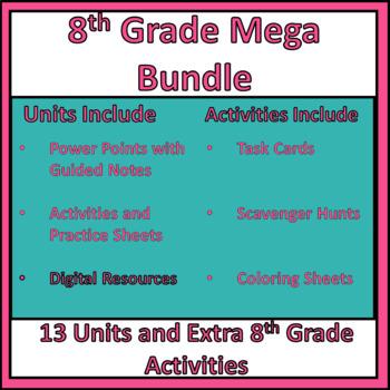 8th Grade Mega Bundle
