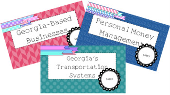8th Grade *NEW* GSE Combined Economics Standards SS8E1-3