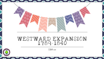 8th Grade NEW Westward Expansion 1789-1840 SS8H4