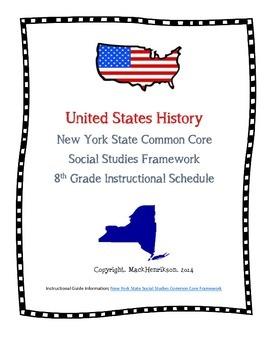 8th Grade NYS Framework Common Core Concept Checklist