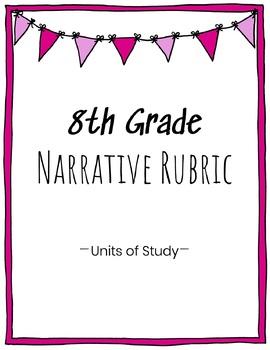 8th Grade Narrative Writing Rubric