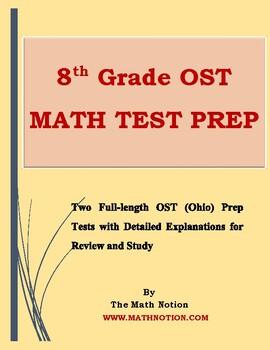 8th Grade OST Math Tests Prep (Ohio)