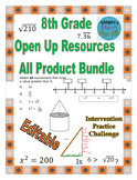 8th Grade Open Up Resources All Product Bundle