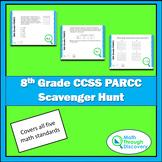 8th Grade PARCC CCSS Scavenger Hunt