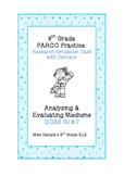 8th Grade ELA PARCC Practice: Factory Farming RST with Centers (RI 8.7)