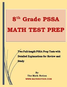 8th Grade PSSA Math Tests Prep