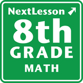 8th Grade Math Performance Tasks Bundle