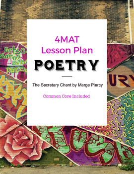 8th Grade Poetry 4MAT Lesson Plan