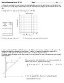 8th Grade Pre-Algebra Q1 Review (Editable)