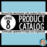 8th Grade Product Catalog