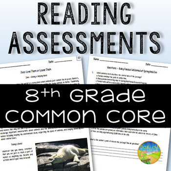 8th Grade Reading Assessments