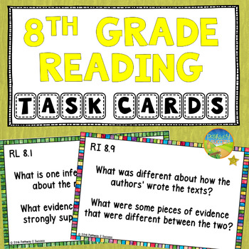 Common core reading comprehension worksheets 8th grade