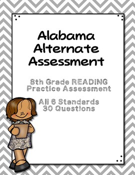 8th Grade Reading Extended Standards Practice Test AAA