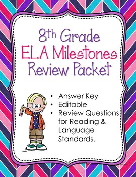 8th Grade Reading & Language Arts CRCT or Milestone Review