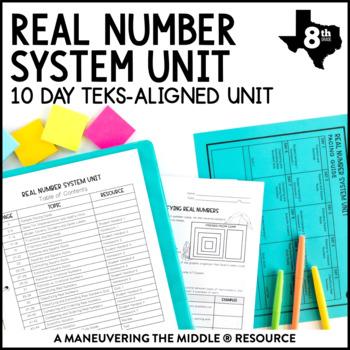 8th Grade Real Number System Unit: TEKS 8.2A, 8.2B, 8.2C, 8.2D