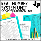Real Number System Unit: 8th Grade Math TEKS 8.2A, 8.2B, 8.2C, 8.2D