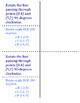 8th Grade Rotations Lesson: FOLDABLE & Homework