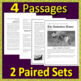 8th Grade SC READY Test Prep ELA - Printable AND Paperless - South Carolina
