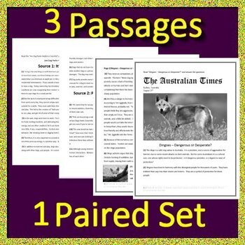 8th Grade STAAR Test Prep Practice - Reading Passages and ...