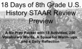 18 days of 8th grade U.S. History STAAR Review