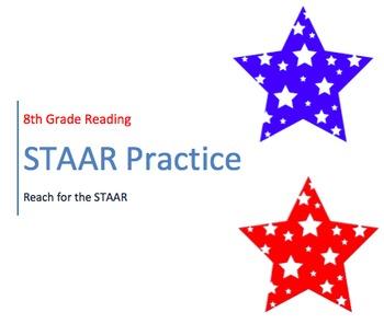 8th Grade STAAR Reading Practice
