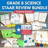 8th Grade STAAR Science Review Bundle