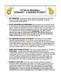 8th Grade Science Classroom Signs Package