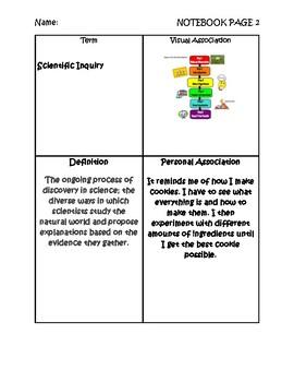 8th Grade Science Graphic Organizer