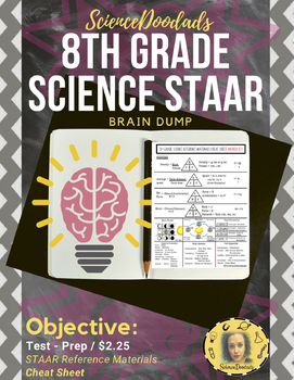 8th Grade Science STAAR - Cheat Sheet by Science Doodads | TpT