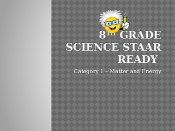 8th Grade Science STAAR Review Bundle-Category 1