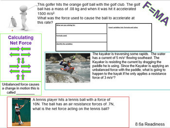 Reporting Category 2 Force, Motion, and Energy STAAR Review