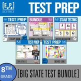 8th Grade Science STAAR Test Review BIG Bundle