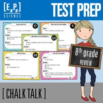 8th Grade Science STAAR Test- State Test Prep- Review ...