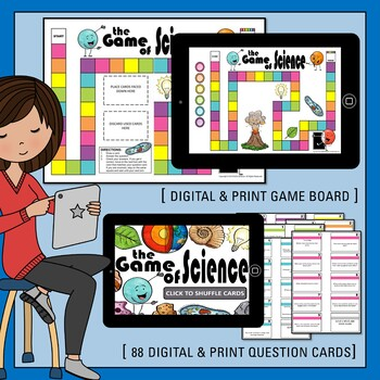 8th Grade Science STAAR Test- State Test Prep- Science Board Game Review