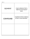 8th Grade Science STAAR Vocabulary Flashcards