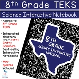 8th Grade Science TEKS - Science Interactive Notebook