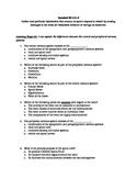 8th Grade Sensory Receptors Summative Assessment