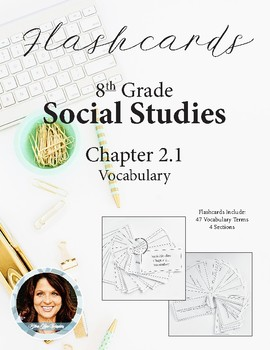 8th Grade Social Studies Ch 2.1 Vocabulary Flashcards