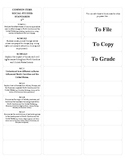 8th Grade Social Studies Common Core Standards Stickers (p