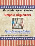 Social Studies STAAR Graphic Organizers, 8th Grade
