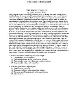 8th Grade Social Studies Midterm