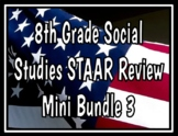 8th Grade Social Studies STAAR Review Bundle 3
