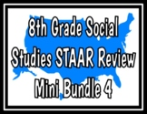 8th Grade Social Studies STAAR Review Bundle 4