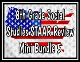 8th Grade Social Studies STAAR Review Bundle 5