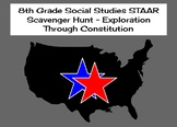 8th Grade Social Studies STAAR Scavenger Hunt - Exploratio