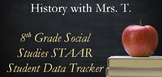8th Grade Social Studies STAAR Student Data Tracker